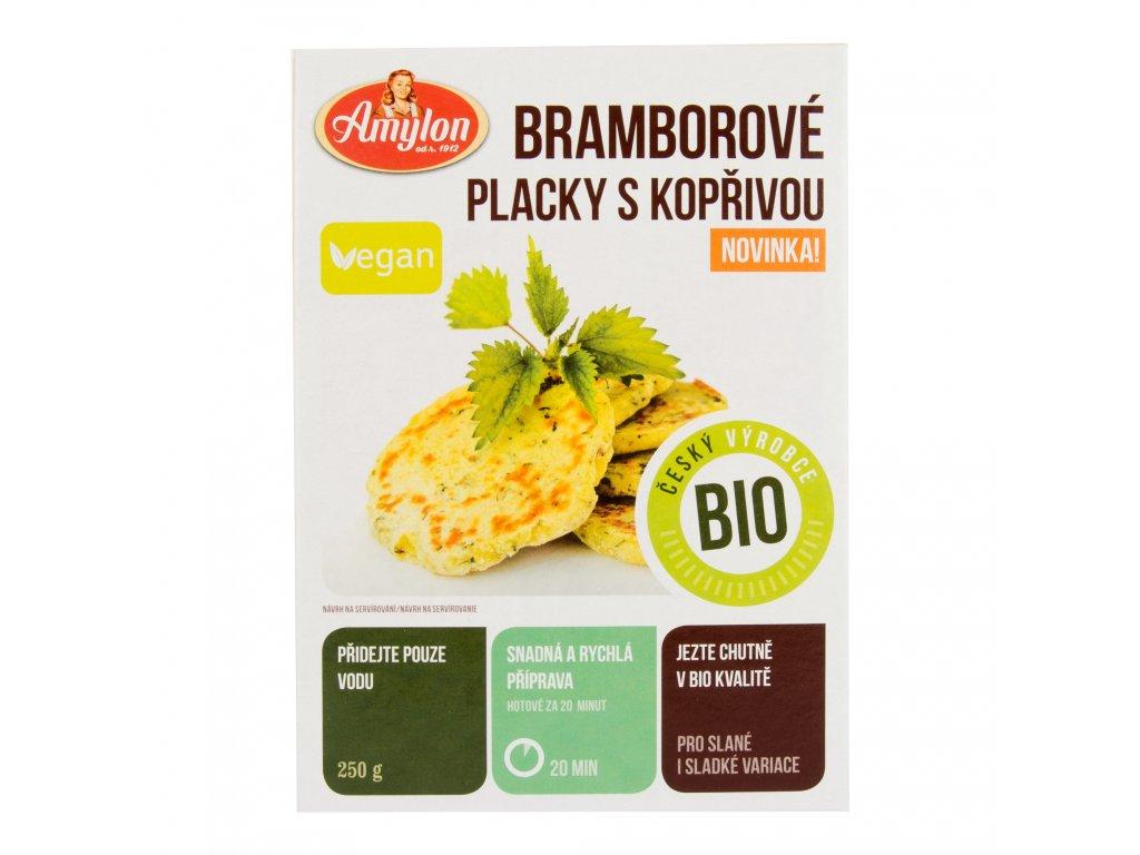 Placky bramborové s kopřivou 250g BIO   AMYLON