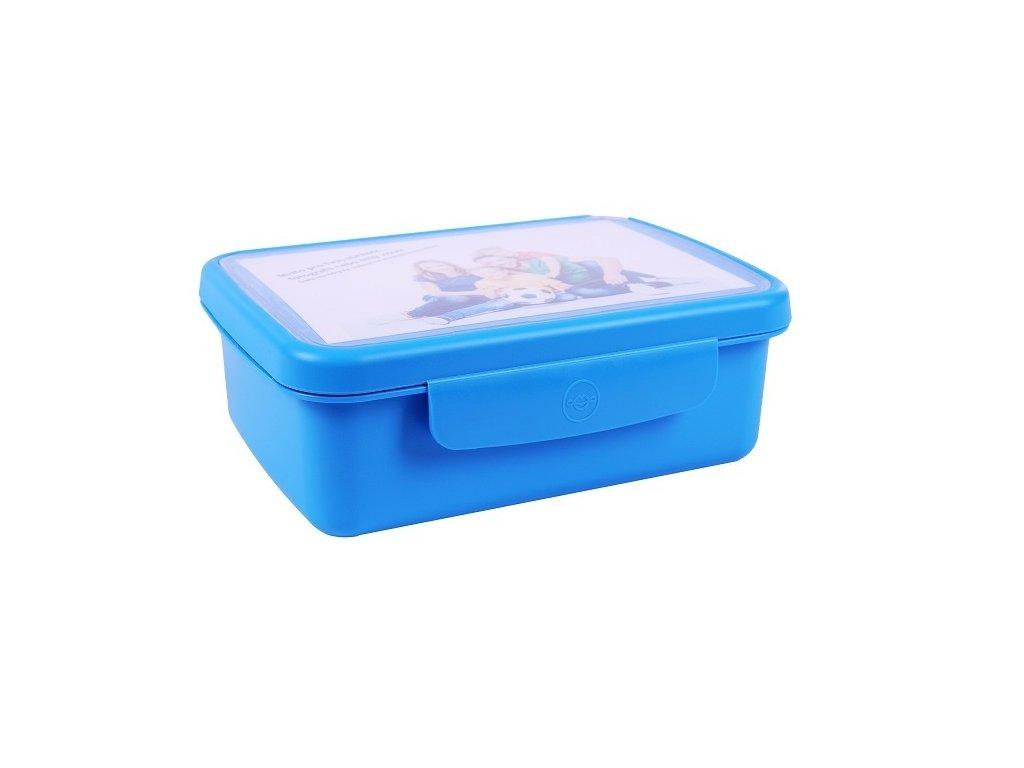 Zdravá sváča komplet box - modrá