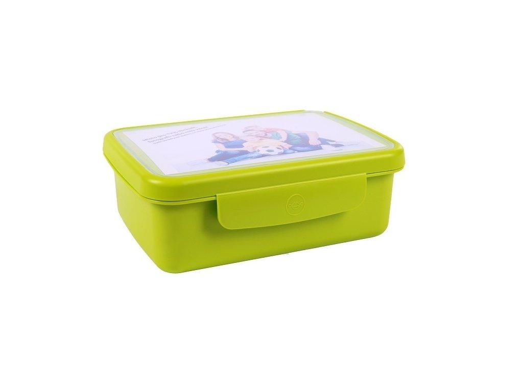 Zdravá sváča komplet box - zelená
