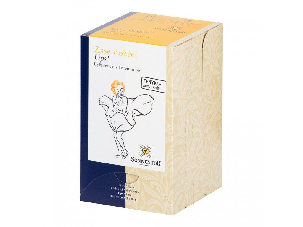 Čaj Ups! bylinná směs 30,6g BIO   SONNENTOR