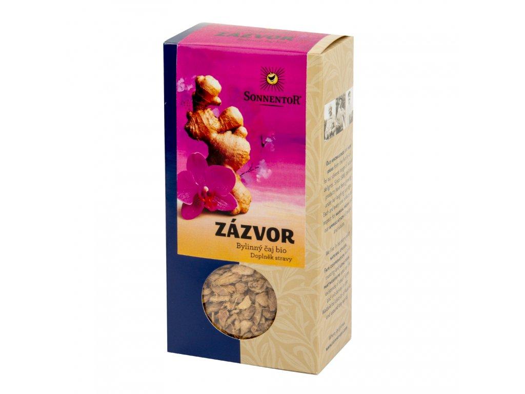 Čaj Zázvor sypaný 90 g BIO   SONNENTOR
