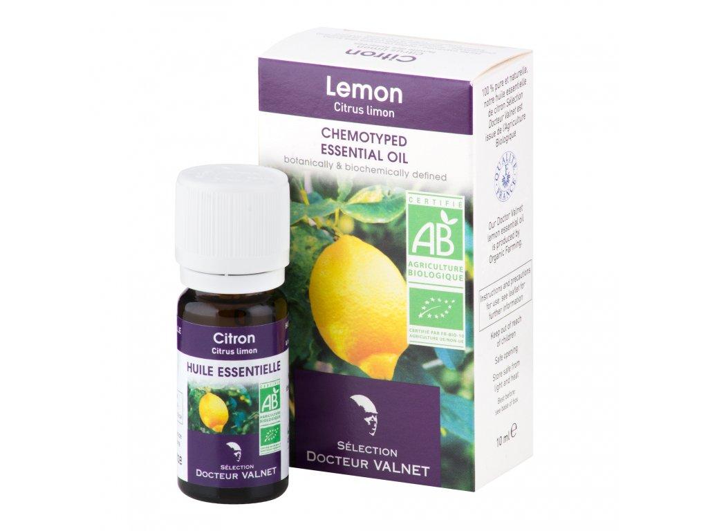 Éterický olej citron 10 ml BIO   COSBIONAT