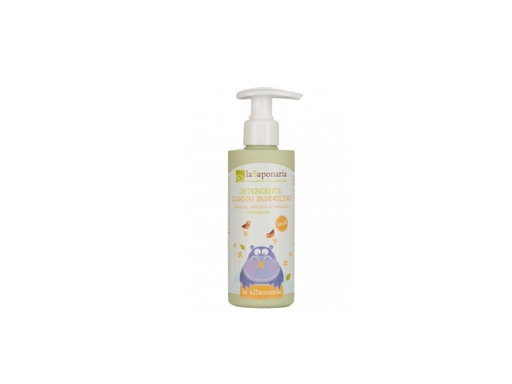 laSaponaria Jemný čisticí gel na přebalování BIO (200 ml)