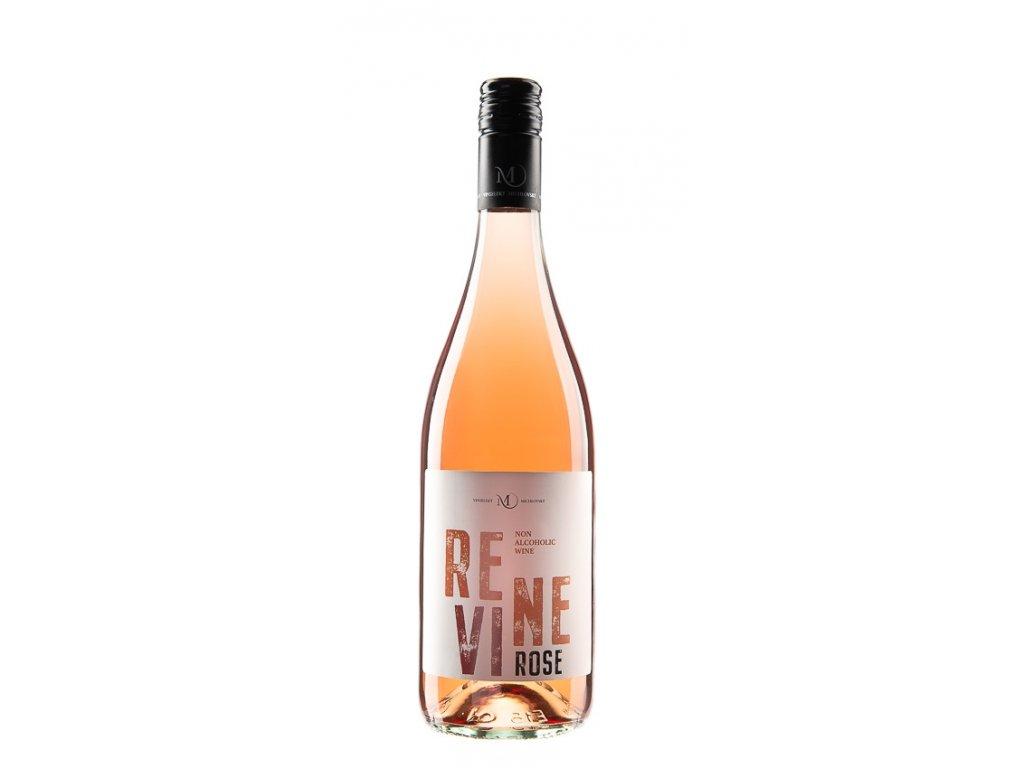 REVINE rosé nealkoholické víno, Vinselekt Michlovský