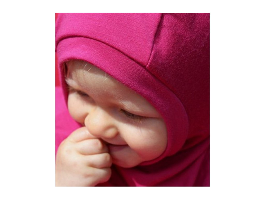 Merino dětská kukla, růžová | Adelay