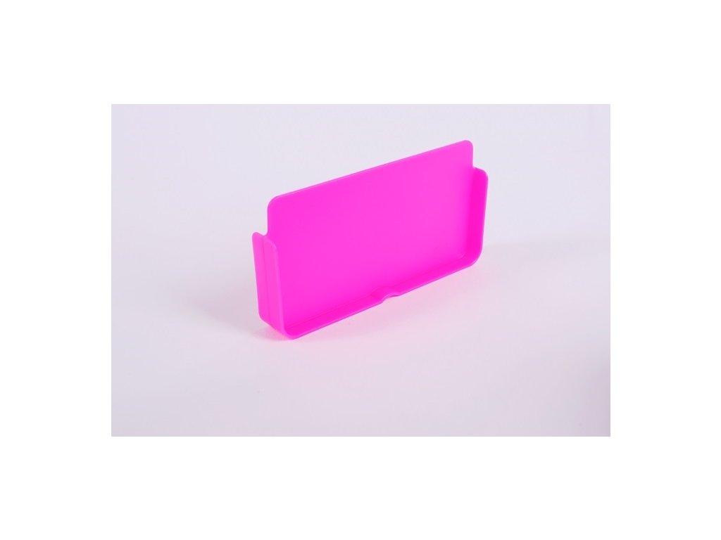 Dělící přepážka na box Zdravá sváča, různe barvy