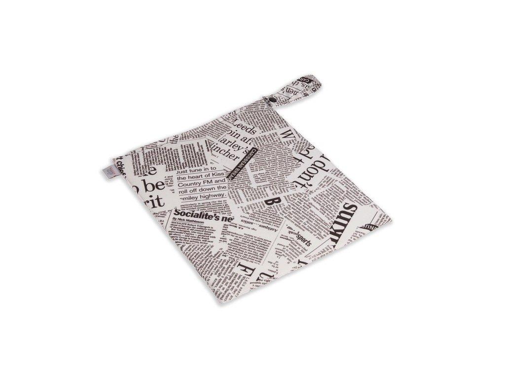 Wet bag Newspaper - pytel na pleny