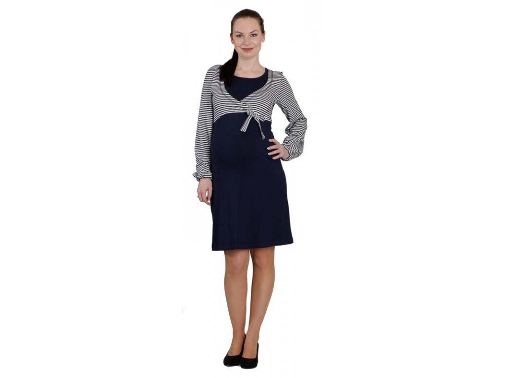 Těhotenské a kojící šaty Rialto LeDames 0466 Dámská velikost: 36