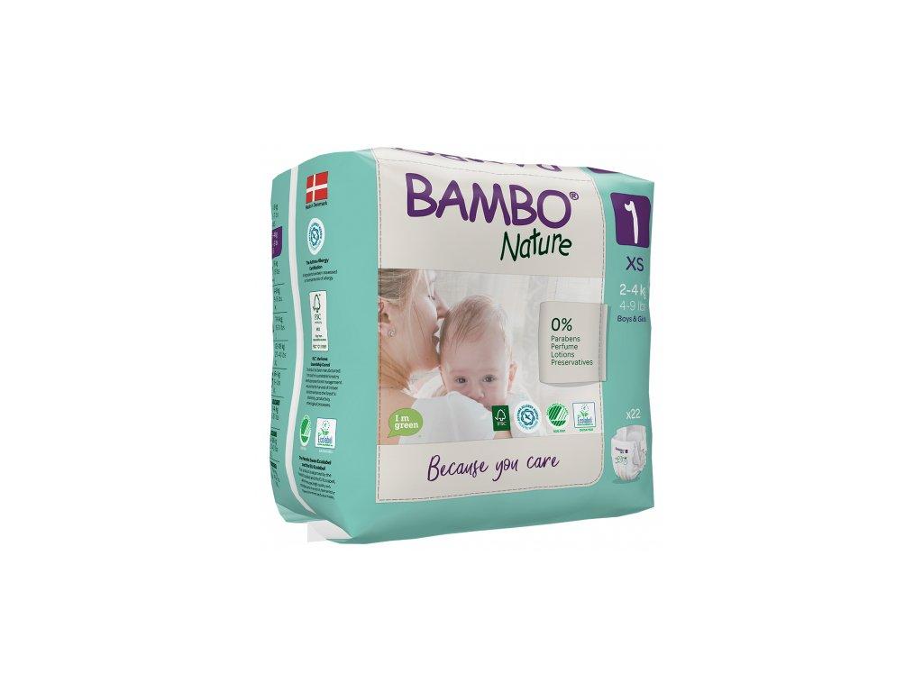 detkse pleny abena bambo nature 1 xs 2 4kg 22ks