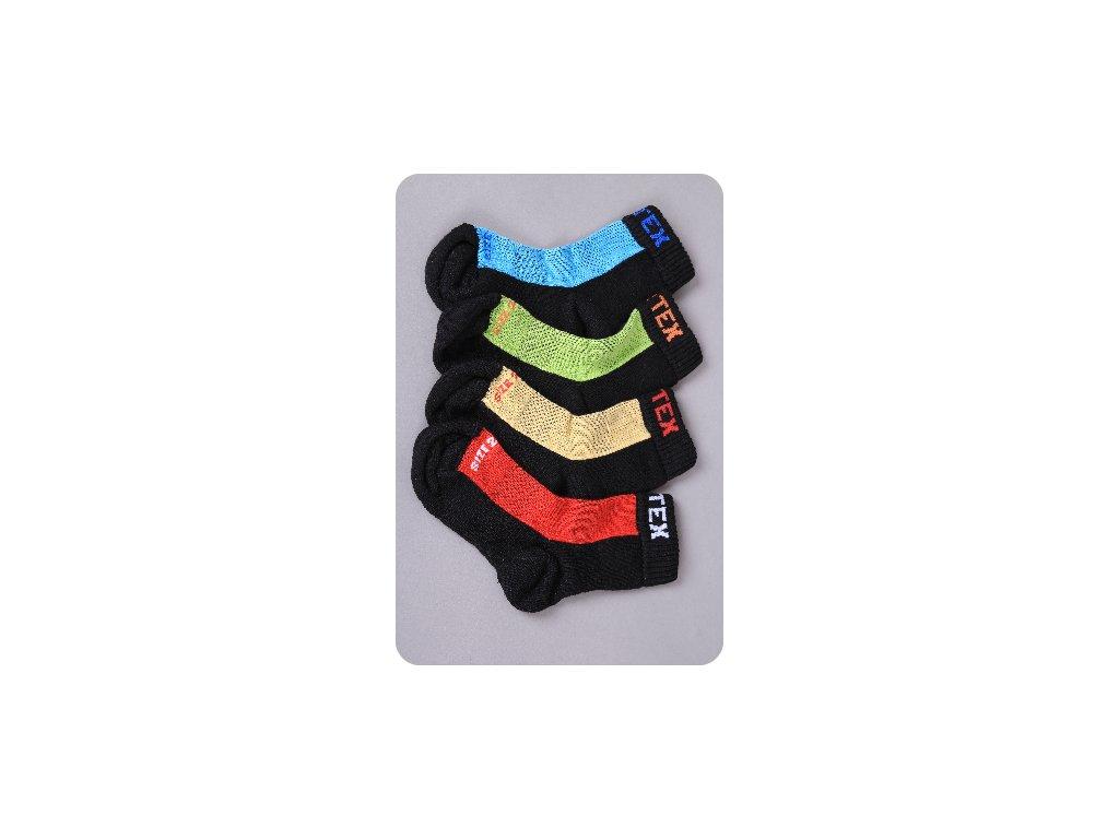 Ponožky jaro/podzim 80% merino Surtex - červené