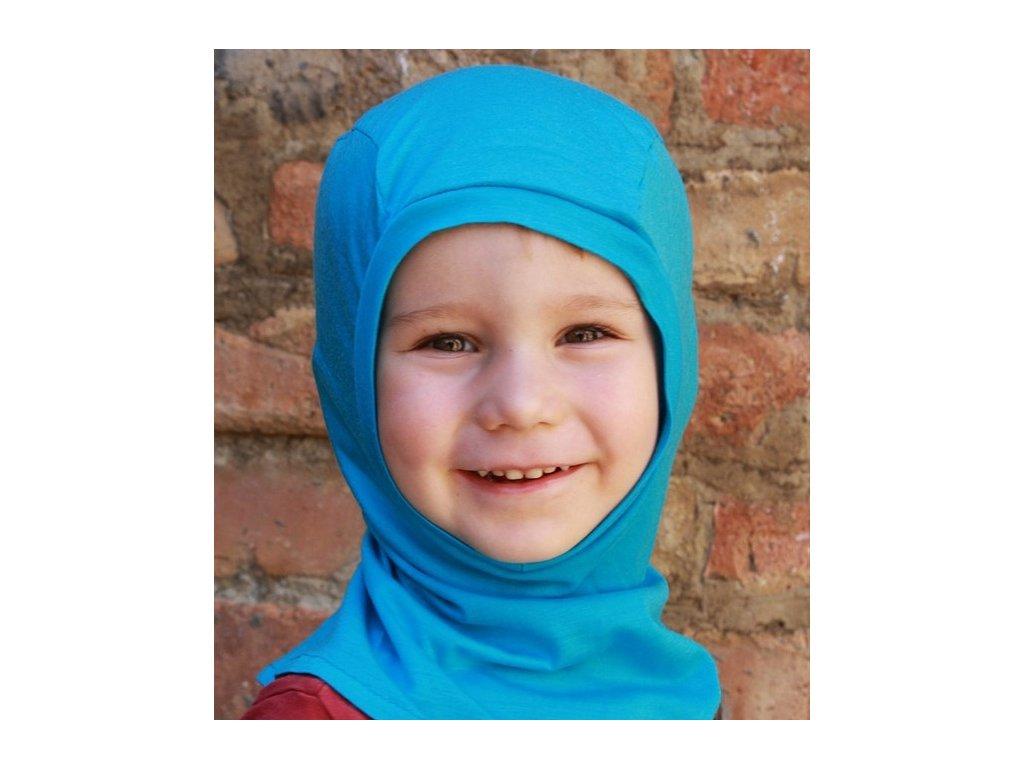 Merino dětská kukla, tyrkysová | Adelay