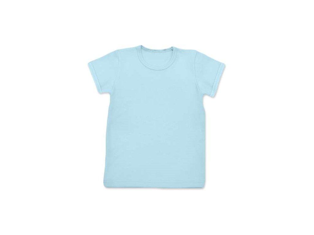 Dětské tričko, krátký rukáv, světle modré, velikost