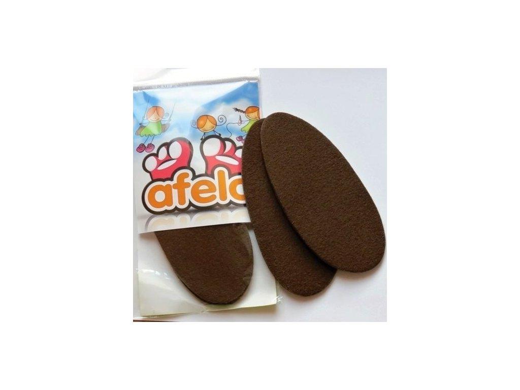 Teplé vložky pro kožené capáčky Afelo
