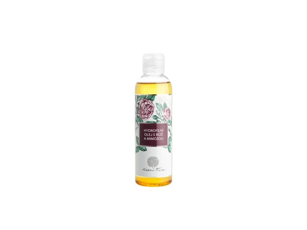 Hydrofilní olej s Růží a mimózou
