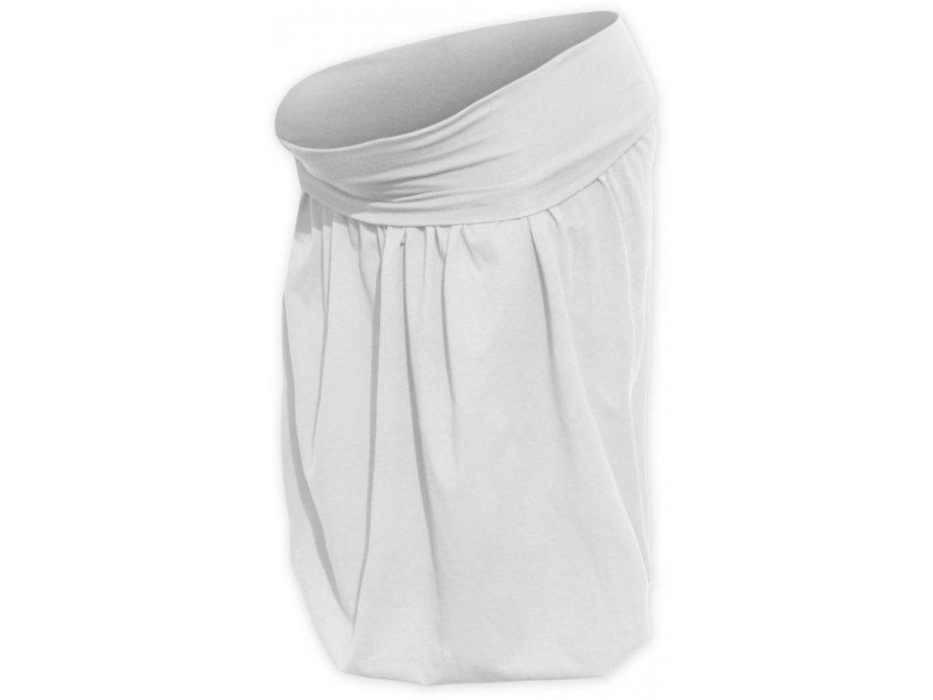 Těhotenská sukně balonová Sabina, smetanová