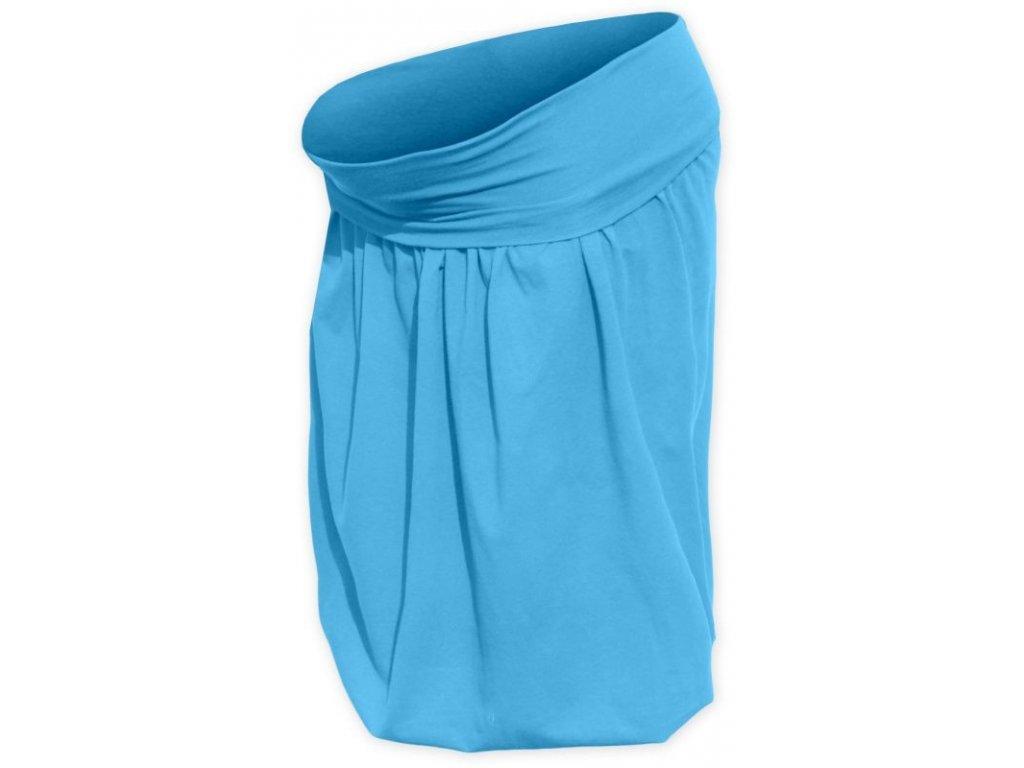 Těhotenská sukně balonová Sabina, tyrkysová