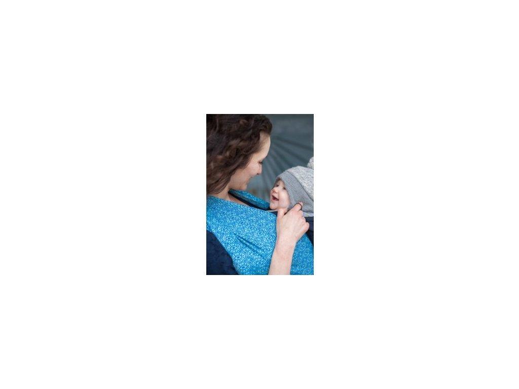 Šátek na nošení dětí - Soffa Sapphire | Loktu she