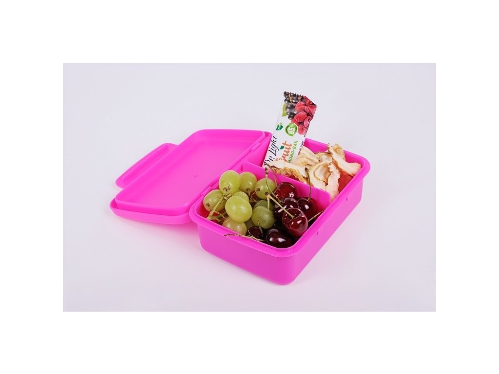 Zdravá sváča komplet box - fluo fialová