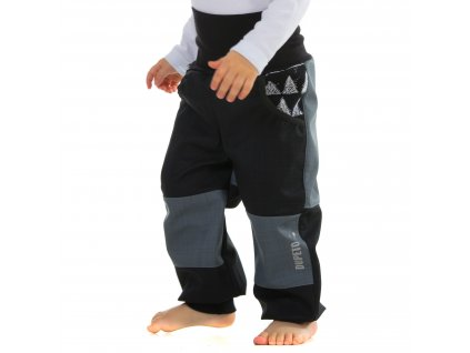 Jarní/podzimní rostoucí softshellové kalhoty Triangle 30/15 tis.