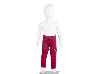 MM ECO 16 yoga kalhoty biobavlna Cherry Sweet