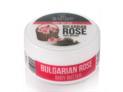 Stani Chef's Přírodní tělové máslo bulharská růže 250 ml