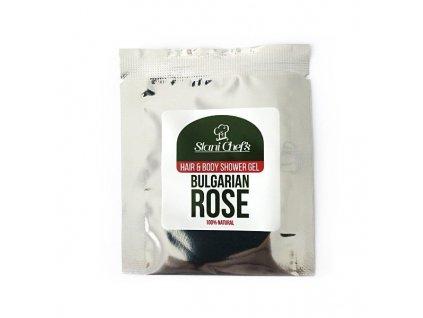 Stani Chef's Přírodní sprchový gel na vlasy a tělo bulharská růže 5 ml
