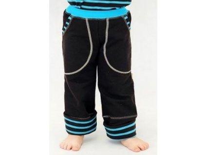 Dětské rostoucí kalhoty Choco tyrkys - Farmers