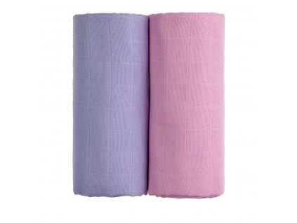 TETRA osušky EXCLUSIVE COLLECTION, pink + lilac / růžová + fialová