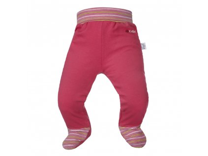 Little Angel Polodupačky smyk Outlast® - sytě růžová/pruh stř.růžový
