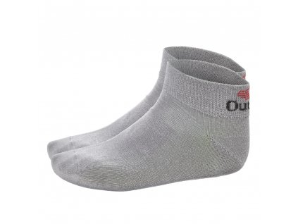 Little Angel Ponožky nízké Outlast® - tm.šedá