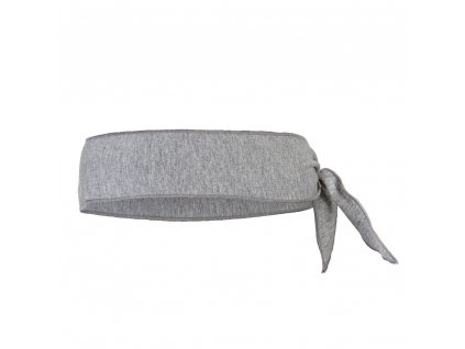 Little Angel Čelenka tenká zavazovací Outlast ® - šedý melír