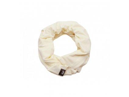 Kojicí šátek Infinity Pulp - Smetanová