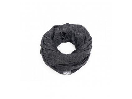 Kojicí šátek Infinity Pulp - tmavě šedá