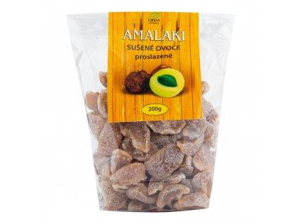 Amalaki sušené proslazené 200 g   DNM COMPANY