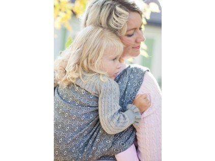 Šátek na nošení dětí - Soffa Steel | Loktu she