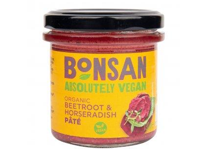 Pomazánka červená řepa a křen 130 g BIO   BONSAN