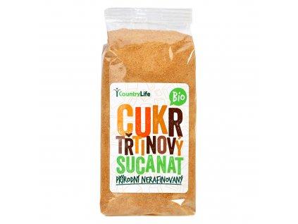 Cukr třtinový Sucanat 500g BIO   COUNTRYLIFE