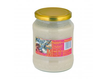 Med květový pastovaný 900g   ČÍHALA