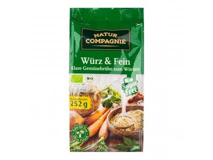Bujon zeleninový 252 g BIO   NATUR COMPAGNIE