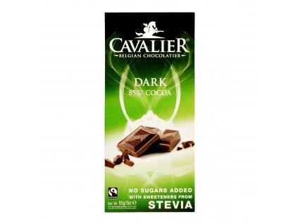 Čokoláda hořká se sladidly 85 g  CAVALIER