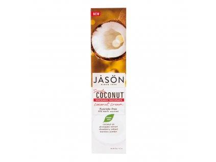 Zubní pasta simply coconut bělicí 119 g   JASON