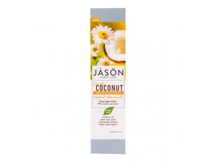 Zubní pasta simply coconut zklidňující s heřmánkem 119 g   JASON