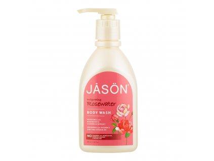 Gel sprchový růže 887 ml   JASON