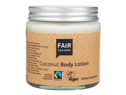 VÝPRODEJ!!!Mléko tělové kokosový olej 100 ml ZWP   FAIR SQUARED