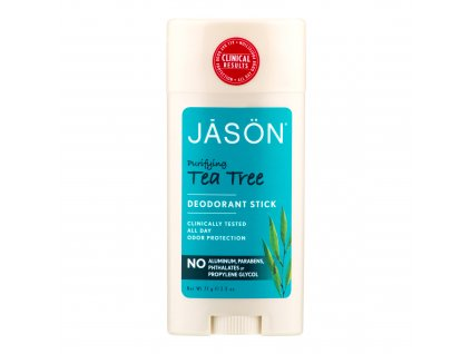 Deodorant tuhý tea tree 71 g   JASON