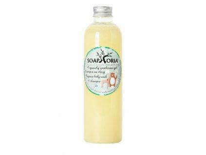 Organický sprchový gel a šampon na vlasy 250ml - Babyphoria