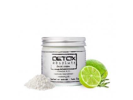 Detoxikační pleťový krém 60ml - DETOX absolute