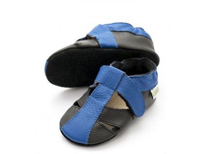 liliputi soft baby sandals atacama black 2705