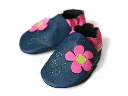 Boty Liliputi - jarní květinky