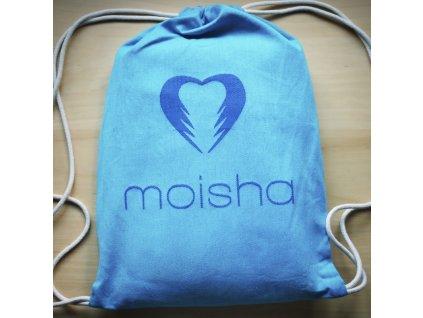 Moisha baťůžek tyrkys/modrý